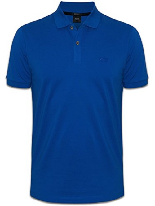 hugo boss herren poloshirt regular fit royalblue sale ebay. Black Bedroom Furniture Sets. Home Design Ideas